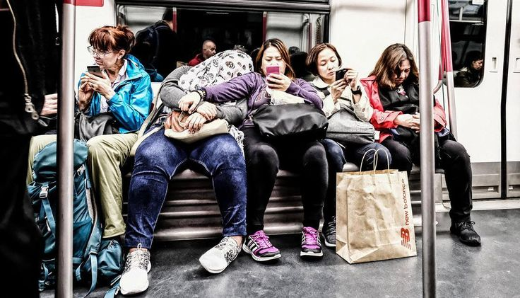 Photo by Uli Planz | X-Pro2 | XF14mmF2.8 R | F5 | 1/60sec | ISO3200 #xseries #xphotographer #fujifilm #streetphotography #subway #morning
