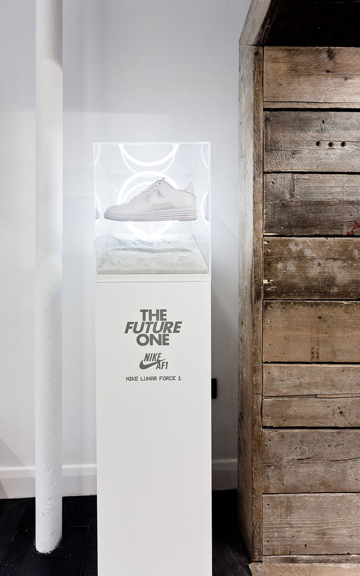Nike. Lunar Force 1. 30 Years of Air Force 1. Footpatrol (Size?, Foot Locker). — Boyce — Design and Art Direction #display