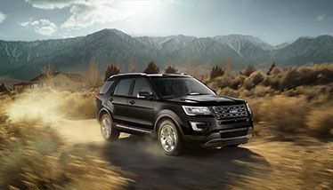2016 Ford Explorer Limited in Shadow Black with Intelligent 4WD with Terrain Management System™. #ford #explorer #limited #mhford