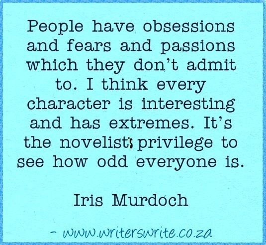 Quotable - Iris Murdoch - Writers Write Creative Blog