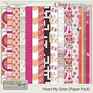 Heart My Sister [Paper Pack]