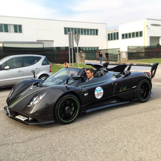 Pagani Zonda 760 Vr Roadster: 48 Best Pagani Automobili Images On Pinterest