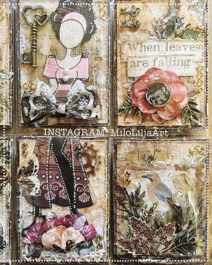 Close up. See all my Pocket letters at the tag: #miloliljaartPOCKETLETTER And all my ATC cards here: #miloliljaartATC  {#miloliljaart} {#myart} {#scrapbooking} {#scrapping} {#álbumderecortes} {#tarjetaspersonalizadas} {#artesaníasdepapel} {#artesanías} {#artisttradingcards} {#art} {#crafting} {#creative} {#atc} {#vintage} {#shabbychic} {#mixedmedia} {#laletradelbolsillo} {#pocketlettertrade} {#tarjetas} {#pocketletter} {#tradingcards} {#cardmaking} {#distressink} {#handcolored}…