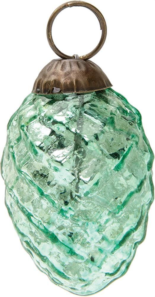 Vintage glass mini christmas ornaments