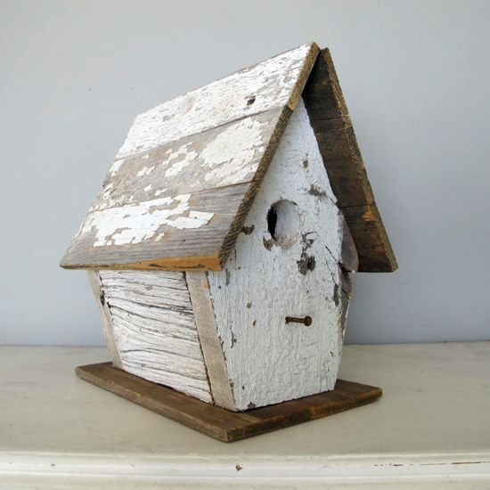 17 Best Ideas About Shabby Chic Birdhouse On Pinterest