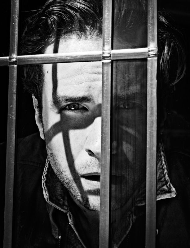 Rafe Spall The Hunger Magazine Editorial Portrait