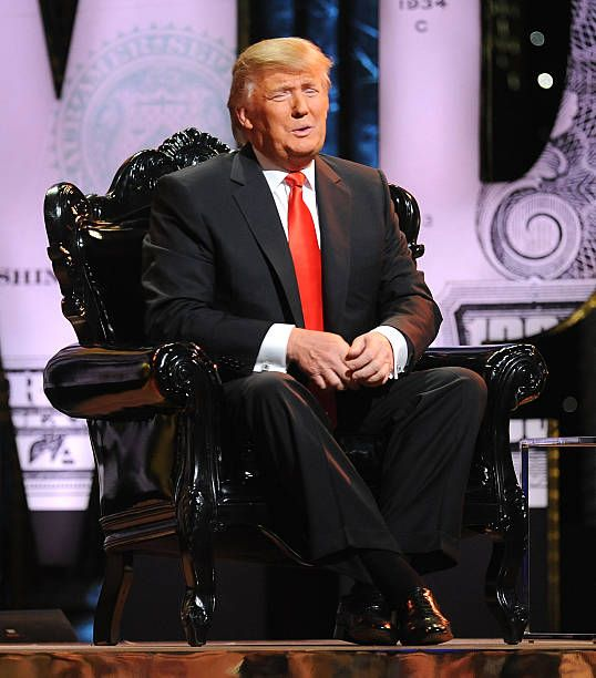 Donald Trump attends at the Comedy Central Roast Of Donald Trump at the Hammerstein Ballroom on March 9 2011 in New York City