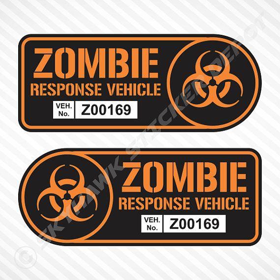 50 best Zombie / Walking Dead Halloween Decal Sticker Collection ...