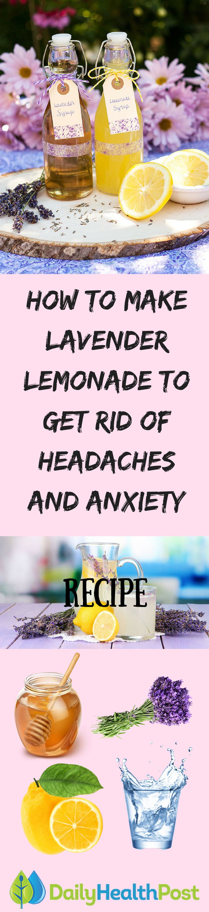 Got a headache that just won't go away? Many people find that traditional over-the-counter pain relief medication is ineffective in dealing with persistent headaches, which can be caused by stress, tension, dehydration, or any number of external or internal factors.Now you can harness the effects of this herbal remedy with this simple, easy-to-make recipe for lavender-infused lemonade – a sweet drink that can also help cure even the most persistent of headaches.Kat Vaname