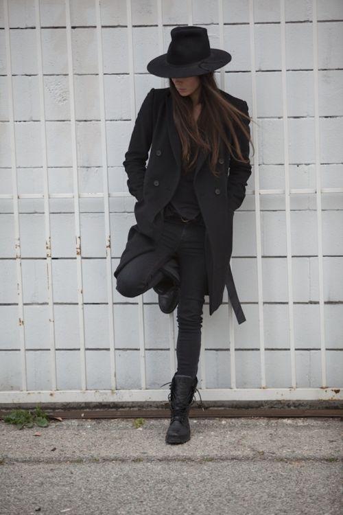 All black....I love it