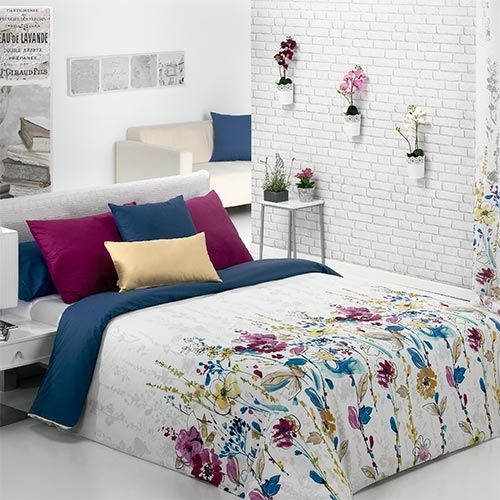 En nuestra tienda online de ropa de cama y fundas nórdicas podrás comprar fundas nórdicas económicas de gran calidad como la funda nórdica Salma de Cañete.