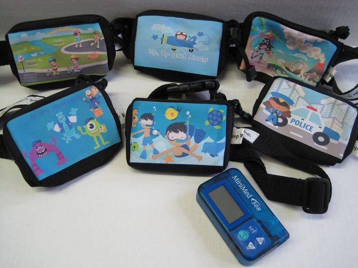 Waterproof insulin pump cases