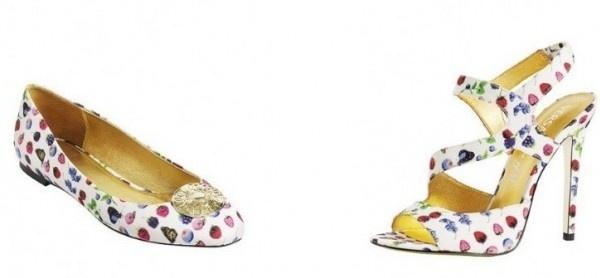 Ballerina e sandalo Versace for H