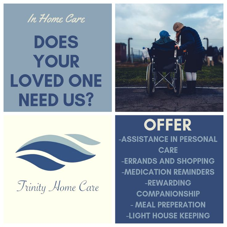 Does Your Loved One Need Us? Home care agency, Care