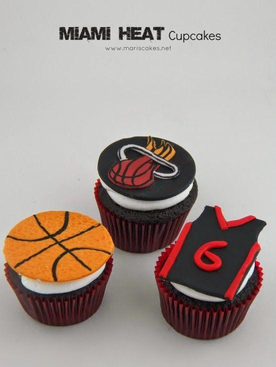 cupcakes de Miami Heat