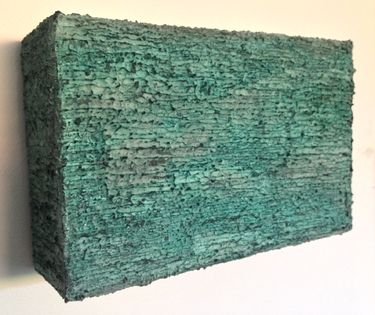 "Saatchi Art Artist Glen Stewart; Painting, ""Untitled (Sedimentary Layers)"" #art"
