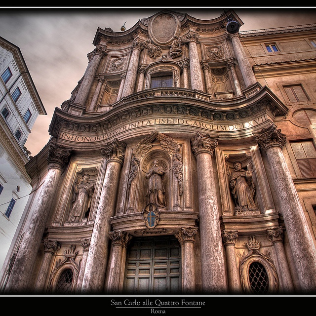 61 best 205 baroque in italy and spain images on pinterest for Churches of baroque period