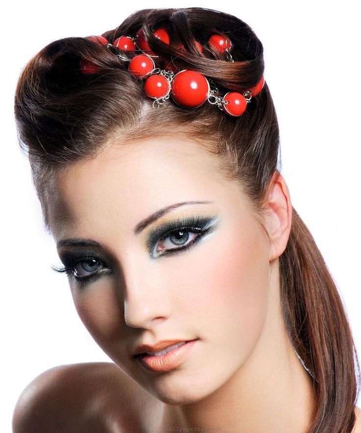 Bridal Makeup Looks Tips Model Makeup 2013 Orange Lip Gloss Tips 2013 Fashion Bridal