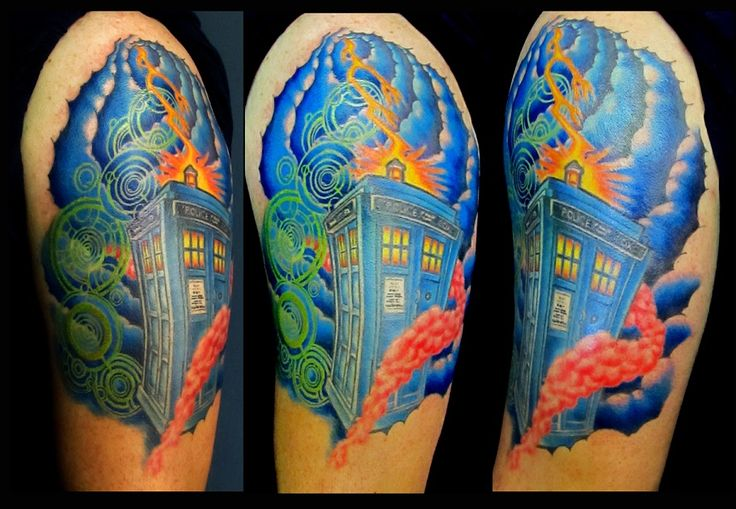 Dr who beautiful done by andy k at omega point tattoo