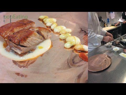popEating - Andrea Mattei - Rosticciana di vitella con fagioli schiaccioni - ricetta - YouTube