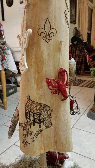 Cajun Night Before Christmas Tree