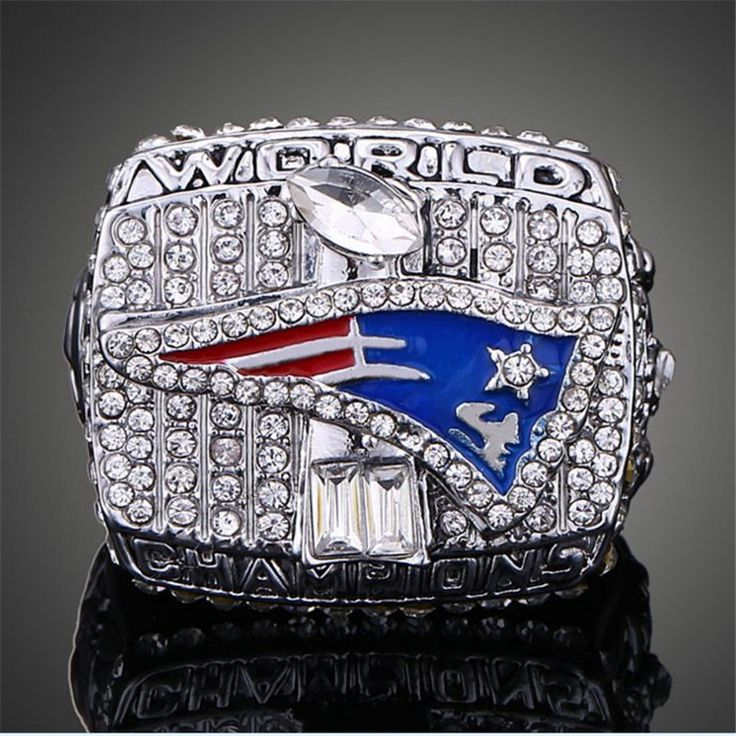 Free shipping European and American fans 2001 New England Patriots Super Bowl championship ring #Affiliate