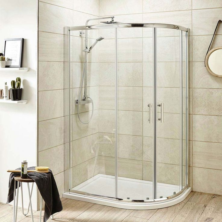 Shop the Pacific Offset Quadrant Shower Enclosure with Tray & Waste. Uses 6mm toughened safety glass. Right hand option. Now at Victorian Plumbing.co.uk.