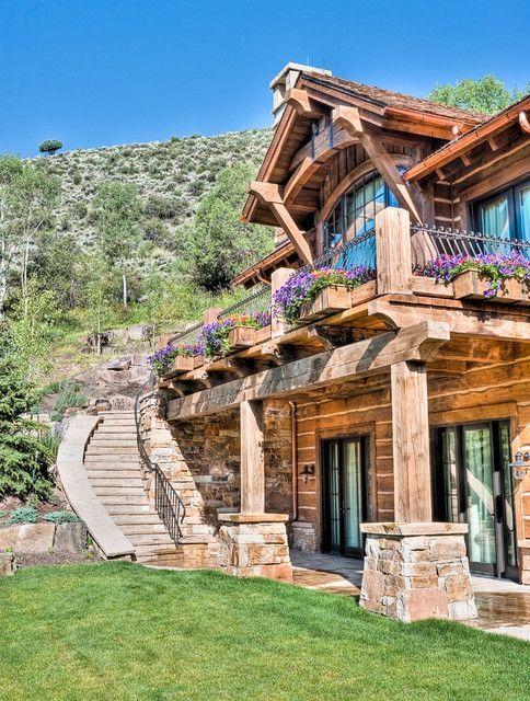 20 Amazing Rustic House Design Ideas – #