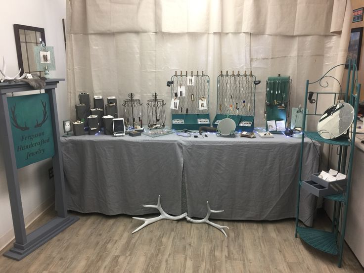 My display booth for Ferguson Handcrafted Jewelry is almost ready for a few spring shows.