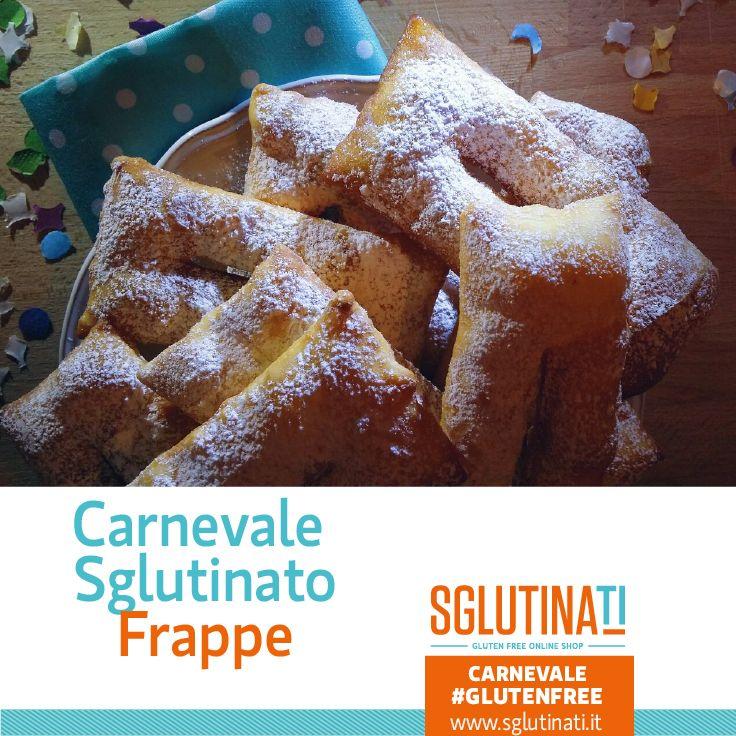 Ed ecco a voi la terza ricetta per IL Carnevale Sglutinato!  Frappe, Chiacchiere, Bugie o Galani da qualsiasi regione dell'Italia tu provenga non potrai resistere a questa bontà esclusivamente gluten free! Scopri qui la ricetta http://sglutinati.it/blog/sglutinaticarnevalelefrappeglutenfree/ #carnevalesglutinato #carnevaleglutenfree #giovedigrasso #senzaglutine #celiachia #glutenfree #celiaco #sglutinati