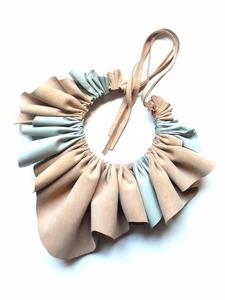 Leather necklace - Giulia Boccafogli