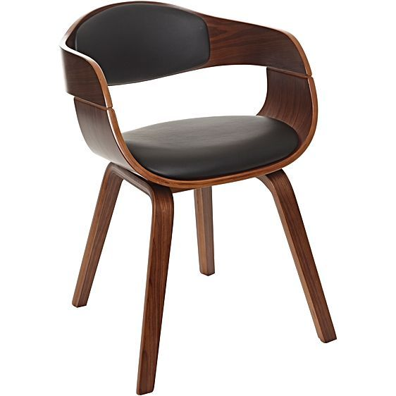 Silas Dining Chair, Walnut by Zanui   Zanui