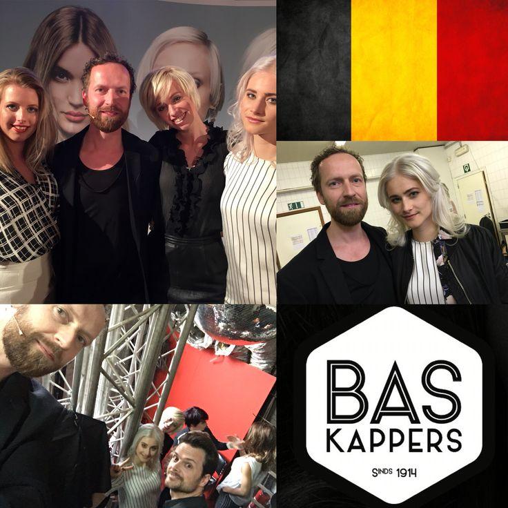 Cool blond Tour Goldwell @ Antwerp! #Belgium #Goldwell #show