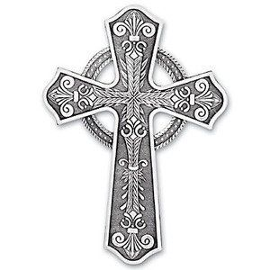 Handmade Celtic Cross by Wendell August Forge by Wendell August Forge. $40.00. Your purchase arrives in a premium gift box ready for gift giving. This piece measures 5 x 7 inches. Made with an extremely high standard for quality and covered by Wendell Augusts Satisfaction Guarantee. Made in the USA by Wendell August Forge - Our nations oldest and largest forge. To care for your purchase wash with warm water and dry immediately. Artistry in Metal Wendell August...
