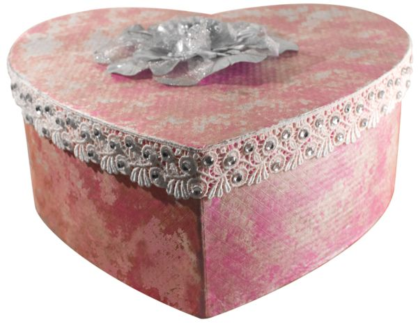 Heart-shaped Box - One off design and box