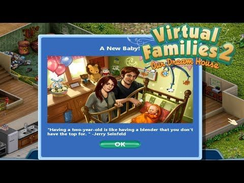    PITTER PATTER OF NEW FEET    Virtual Families 2: Our Dream Home Gameplay Walkthrough Series Ep.2 - http://LIFEWAYSVILLAGE.COM/career-planning/pitter-patter-of-new-feet-virtual-families-2-our-dream-home-gameplay-walkthrough-series-ep-2/