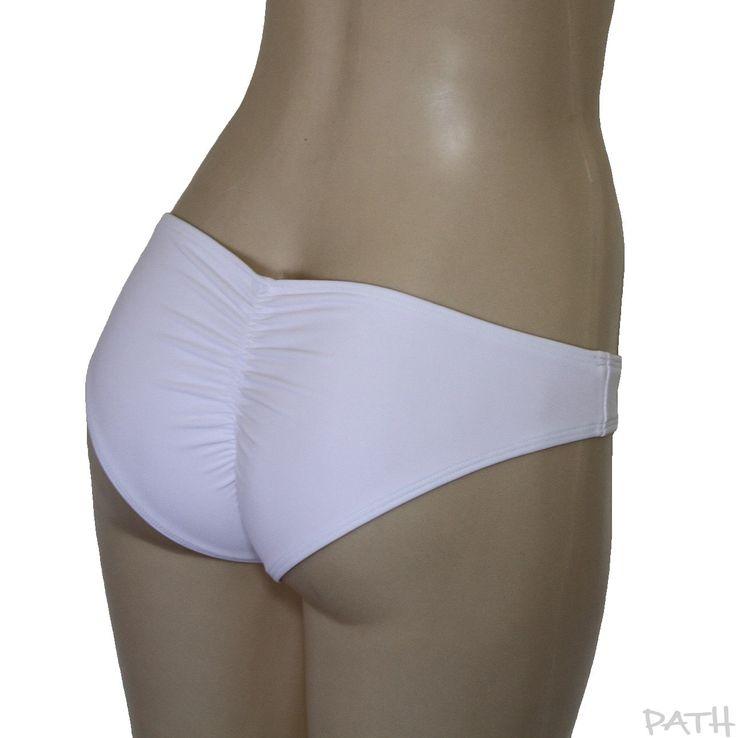 """culotte de maillot de bain """"Basic Scrunch"""", bas de bikini froissé aux fesses, culotte de costume de bain à coordonner. de la boutique atelierPATH sur Etsy"""