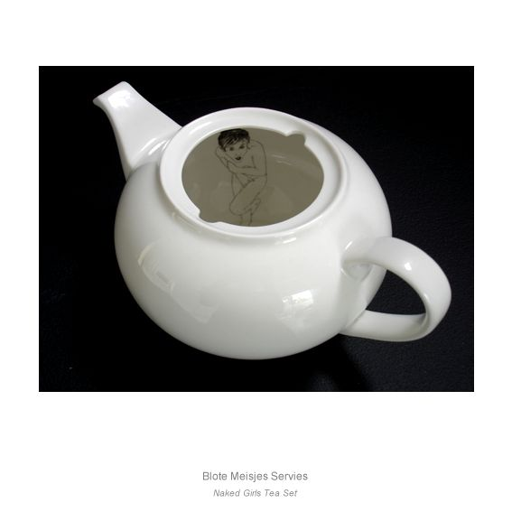 Ohh... there is something inside my teapot... surprise! - http://www.estherhorchner.nl/