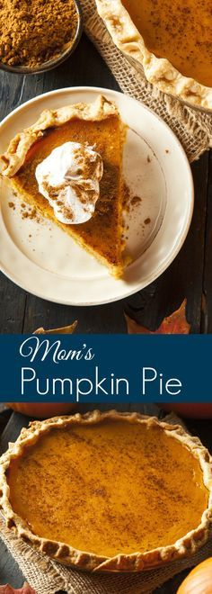 Family celebrations just wouldn't be complete without a pumpkin pie.  This classic dessert is the star of many family celebrations like Thanksgiving, Christmas and Easter.   Just the thought of  the heady aroma of spice and sweetness that fill our homes a