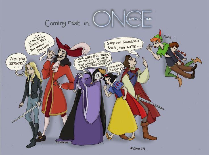 Once upon a time... Hahahaha hahahaha