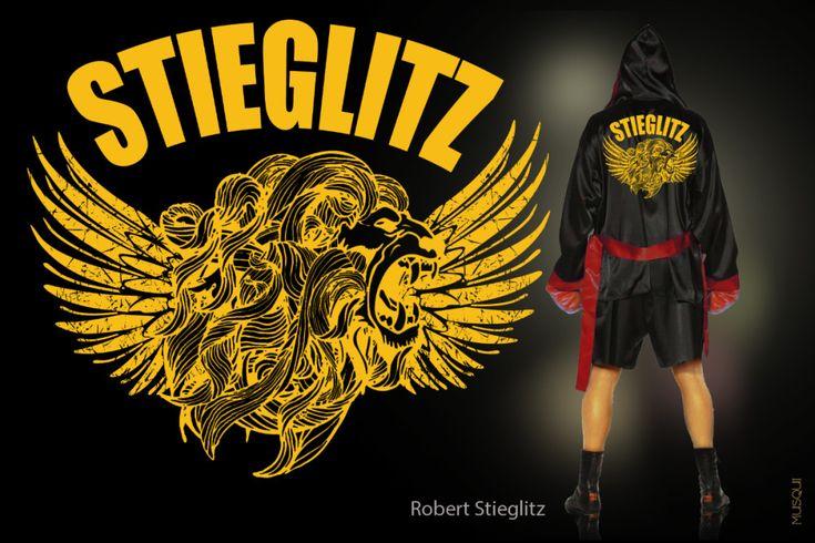 Boxing Robe Robert Stieglitz de Fede Musqui
