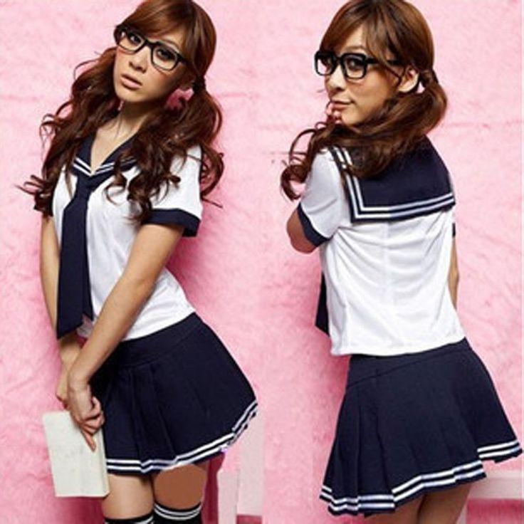 Japanese School Girl Fancy Dress Outfits Set Sailor Suit Uniform Cosplay Costume #Unbranded #Uniform