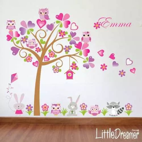 Vinilos decorativos coleccion arboles infantiles ag for Stickers decorativos infantiles