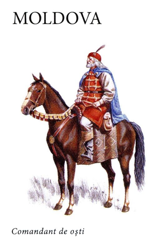 Moldavian commander, 15th century
