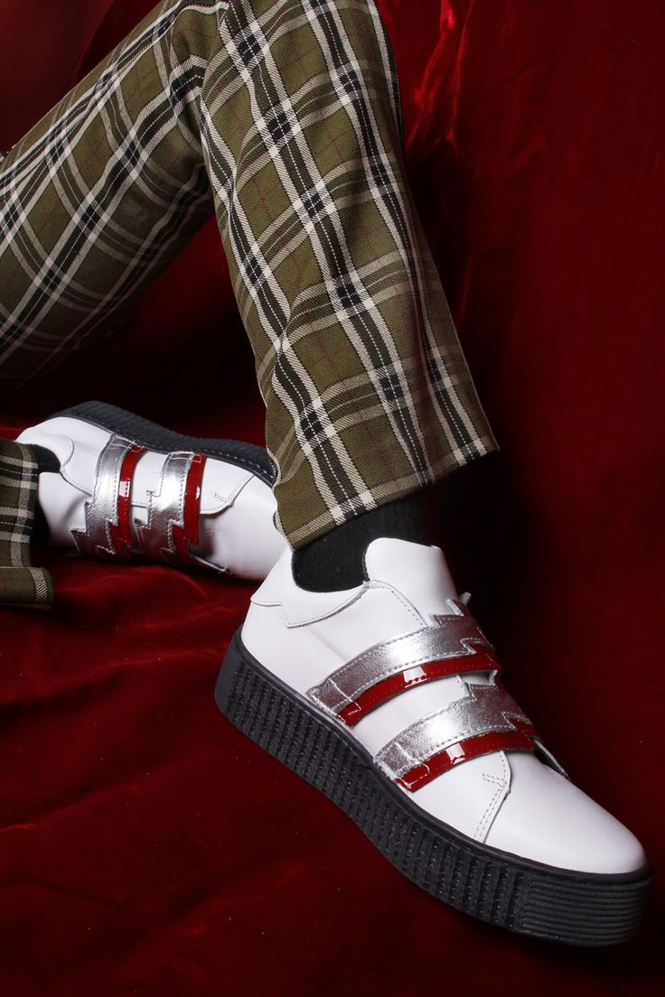 Holiday chic! Buy your pair of VICE Bolt Creeper Sneakers now!