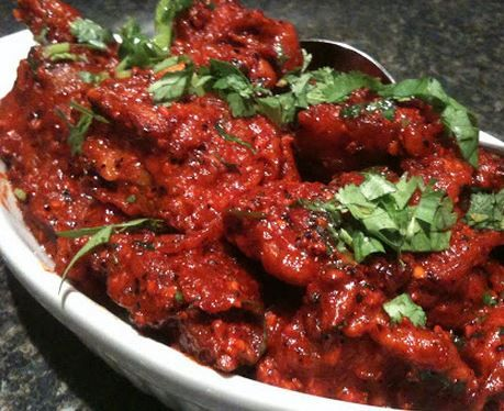 If you like very spicy food, you should try this recipe. This is one a well known spicy chicken recipe. But if you don't want it spicy just adjust the heat as per your preference and give it a try.