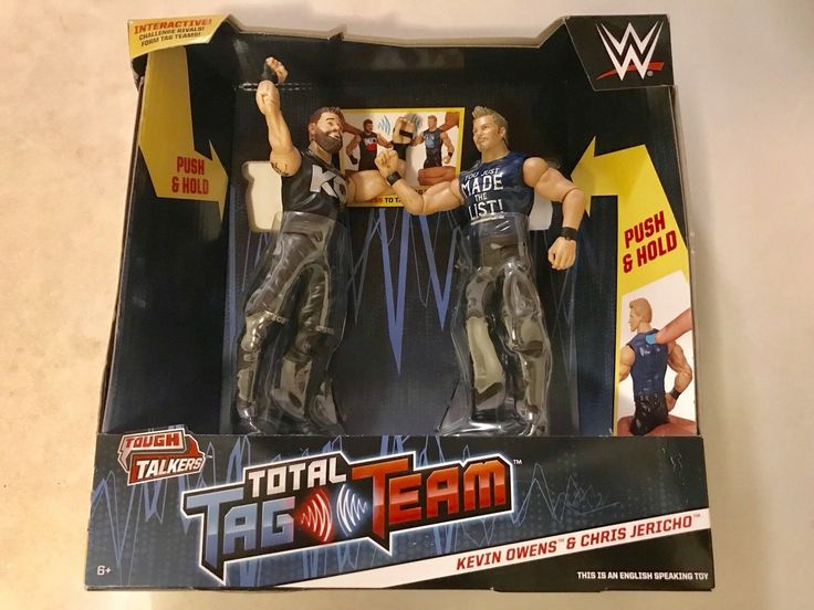 WWE Tough Talkers Total Tag Team Kevin Owens and Chris Jericho Figures - http://bestsellerlist.co.uk/wwe-tough-talkers-total-tag-team-kevin-owens-and-chris-jericho-figures/