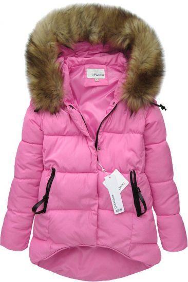 Dámska zimná bunda 2010 ružová