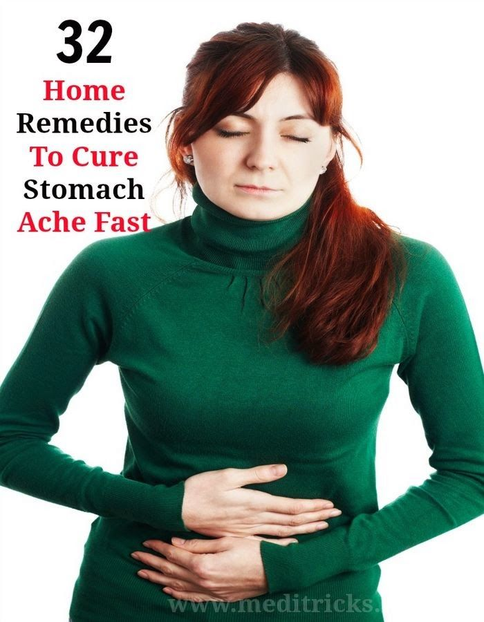 How to Cure a Stomach Ache Fast   Medi Tricks