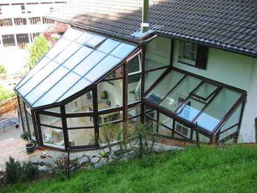 Veranda #Finstral   Conservatory #Pinterest
